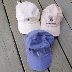 3 - Polo hats
